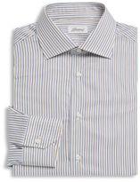 Brioni Stripe Cotton Dress Shirt