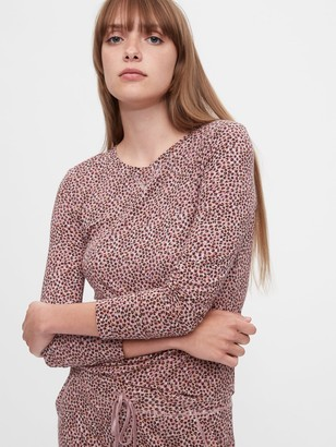 Gap Print PJ Shirt in Modal