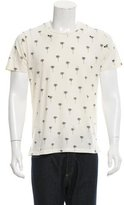 Rag & Bone Palm Tree Print T-Shirt