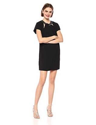 Adelyn Rae Women's Jorja Woven Shift Dress