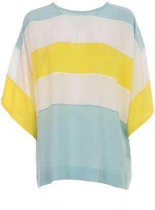 Mantu Shirt S/s Crew Neck W/stripes