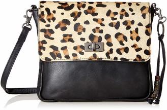Legend Womens FALZES Cross-Body Bag Multicolour Multicolour (black/panther 0080)