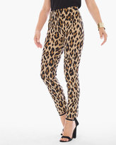 Chico's Juliet Animal-Print Ankle Pants