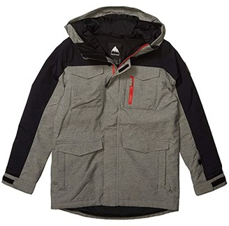 Burton Covert Jacket (Little Kids/Big Kids) (Bog Heather/True Black 1) Boy's Coat
