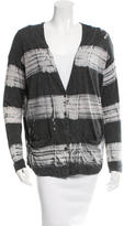 Raquel Allegra Tie-Dye Button-Up Cardigan