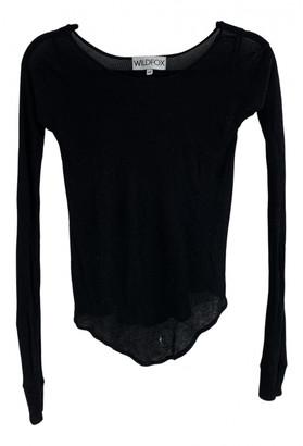 Wildfox Couture Black Cotton Tops