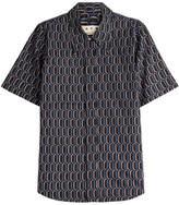 Marni Printed Cotton Short Sleeve Shirt