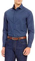 Hart Schaffner Marx Floral Long-Sleeve Woven Shirt