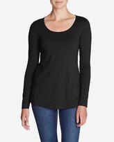 Eddie Bauer Women's Long-Sleeve Scoop-Neck T-Shirt