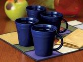 Rachael Ray Blue Raspberry Mugs