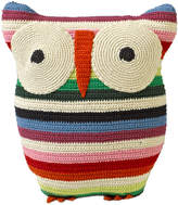 Anne Claire Crochet Owl Cushion - 30x25cm - Mix Stripe