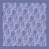The Paisley Pocket Square - Grey