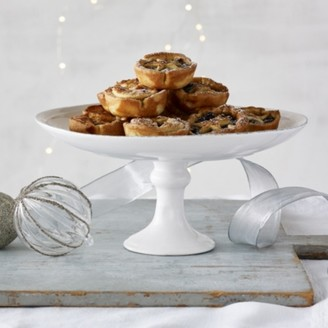 The White Company Mince Pie Cake Stand, White, One Size