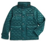 Burberry Halesworth Quilted Field Jacket (Little Boys & Big Boys)