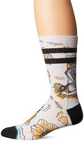 Stance Men's Hulaween Halloween Tropical Arch Support Classic Crew Sock