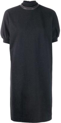 Brunello Cucinelli turtle-neck shift dress