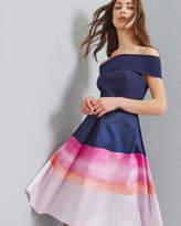 Ted Baker Marina Mosaic Bardot dress