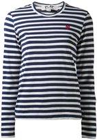 Comme des Garcons striped long sleeve T-shirt