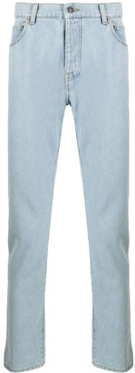MSGM mid-rise tapered-leg jeans