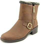 Anne Klein Lyvia Women Round Toe Leather Ankle Boot.