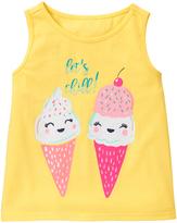 Gymboree Sunshine 'Let's Chill' Ice Cream Swing Tank - Infant & Toddler