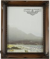 Imperial Frames 4 by 6-Inch/6 by 4-Inch Picture/Photo Frame, Dark Curved Molding with Modest Floral Designs