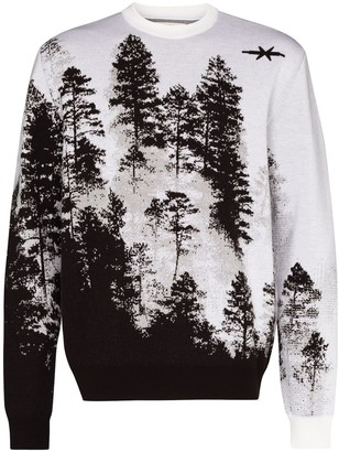 Phipps Treescape Crew Neck Jumper