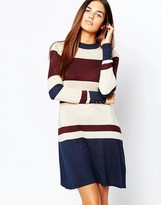 Warehouse Stripe Swing Dress