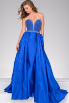 Jovani Overlay Taffeta Prom Dress 47321