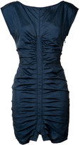 Rachel Comey ruched cap sleeve dress - women - Nylon - 0