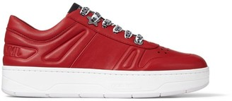 Jimmy Choo Leather Hawaii Sneakers