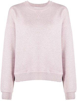 Ganni Relaxed-Fit Crew-Neck Sweatshirt