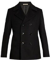 Bottega Veneta Double-breasted Wool Pea Coat