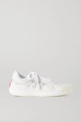 adidas Prada Neoprene And Mesh Sneakers - White