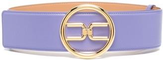 Elisabetta Franchi Logo Plaque Belt