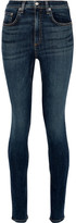 Rag & Bone Dive Mid-rise Skinny Jeans - Dark denim