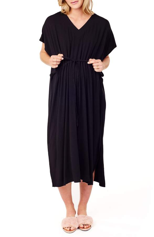 Ingrid & Isabel R) x James Fox & Co. Maternity/Nursing Hospital Gown