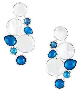 Ippolita Women's Wonderland Sterling Silver, Rock Crystal & Doublet Chandelier Earrings