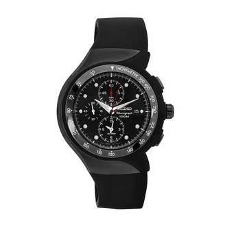 Seiko Men's SNAD45P2 Streamline Rubber Strap Chronograph Alarm Watch