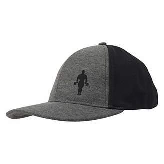 Gold's Gym GGHAT095 Muscle Joe Workout Sports Flat Peak Classic Snapback Hat Baseball Cap