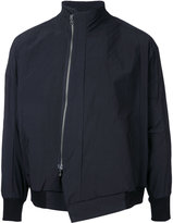 Niløs asymmetric zip jacket