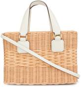 Mark Cross basket tote