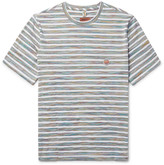 Missoni - Mare Striped Space-dyed Cotton-jersey T-shirt