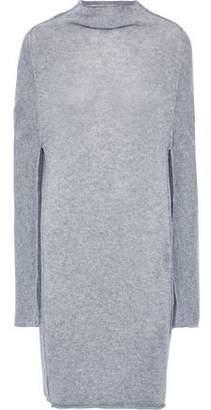 Jil Sander Melange Cashmere Mini Dress