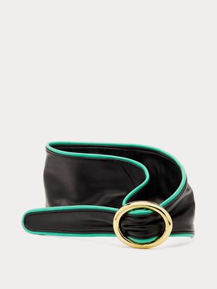 Diane von Furstenberg Zilla Leather Belt