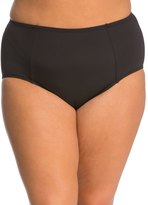 Kenneth Cole Plus Size The Ruffle Shuffle High Waist Bikini Bottom 8139307