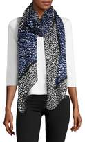 MICHAEL Michael Kors Abstract Oblong Scarf