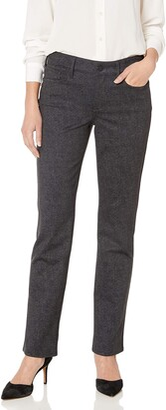 NYDJ Women's Petite Size Ponte Marilyn Straight Pant