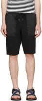 Nanamica Black Sweat Lounge Shorts