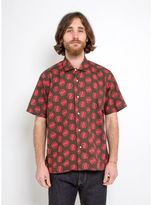 Gitman Brothers Vintage Camp Shirt Circle Print